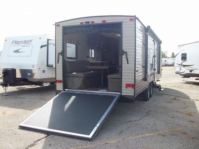 2016 Grey Wolf 26rr Toy Hauler With Front Bedroom