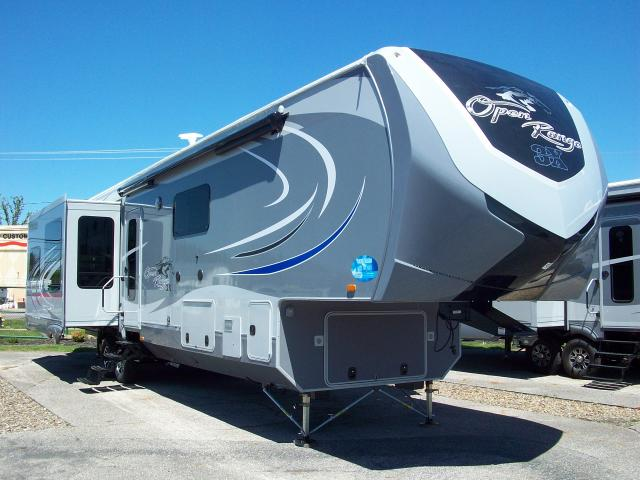 2016 Open Range 3x 397fbs Four Seasons 5th Wheel With Front Bathroom And King Bed