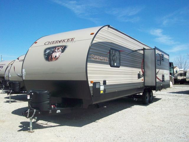 2017 Cherokee 304R Travel Trailer with Rear Living