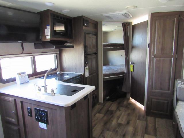 2017 Micro Lite 25BRDS Camping Trailer with Bunks and Outdoor Kitchen