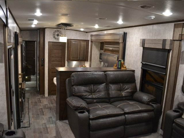 2017 Open Range 3X 387RBS Front Living Room 5th Wheel with King Bed