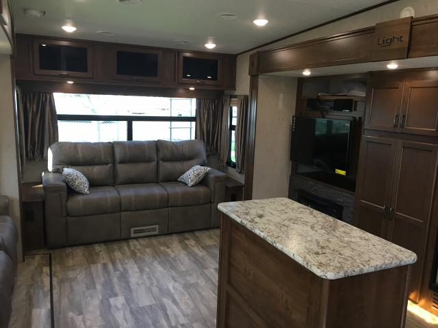 2017 Open Range Light 319rls Rear Living Room Fifth Wheel