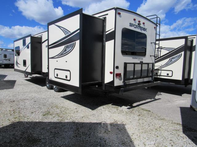 2017 Sport Trek Touring Edition 333VFL Front Living Room Travel Trailer With