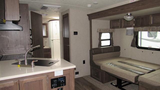 2018 Flagstaff Micro Lite 25BDS Camping Trailer with Outdoor Kitchen