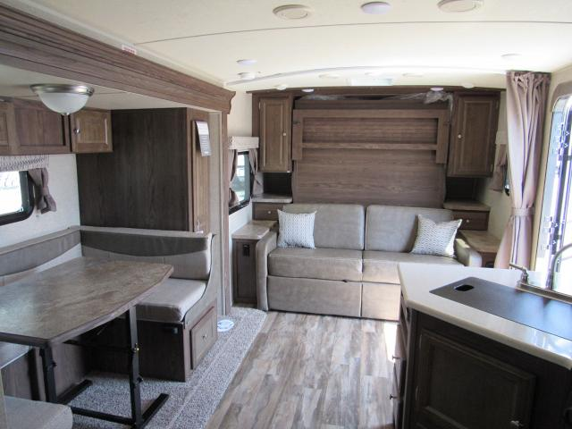 2018 Micro Lite 25BDS Camping Trailer with Outdoor Kitchen