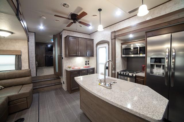2017 open range 376fbh - front living room or 2nd bedroom fifth wheel