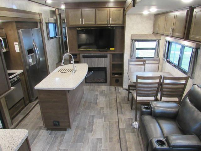 2018 Open Range 376FBH   Front Living Room Or 2nd Bedroom Fifth Wheel