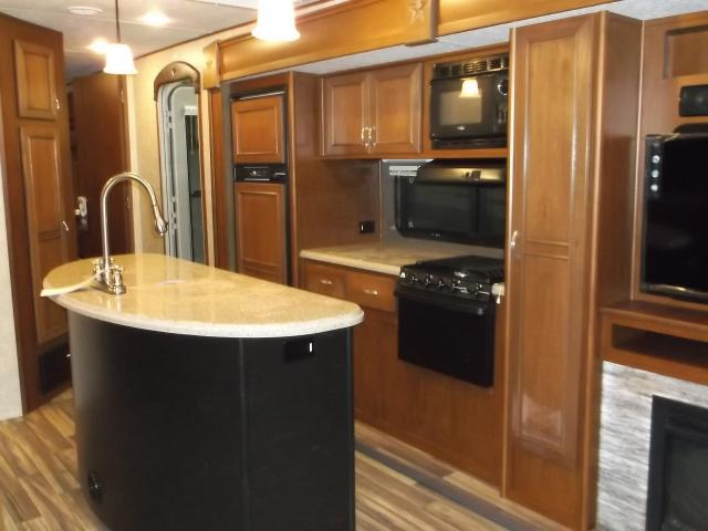 Open Range Roamer 292RLS Rear Living with Fireplace and Kitchen ...