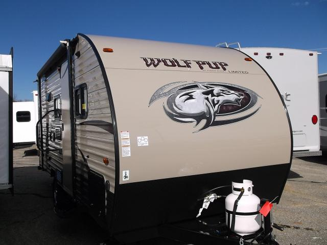 2016 Wolf Pup 16BHS travel trailer