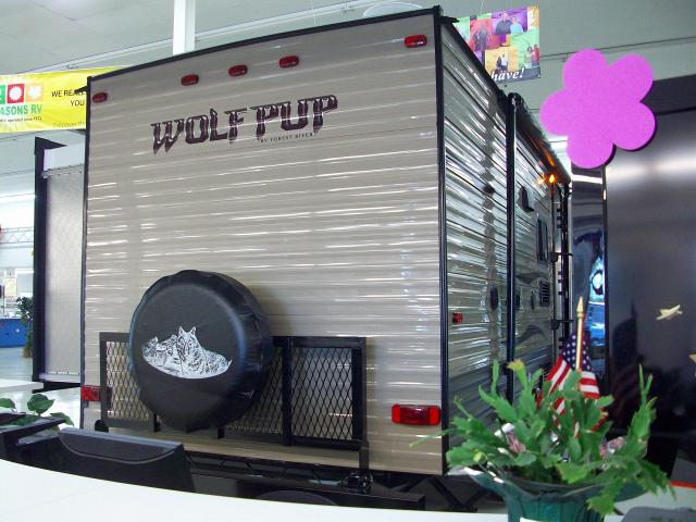 New 2018 Cherokee Wolf Pup 18to Light Weight Travel Trailer
