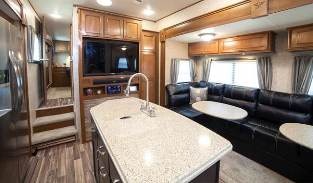 Open range 376fbh front living room or 2nd bedroom fifth wheel for Front living room fifth wheel rv for sale