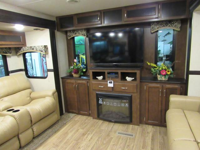 Trek Touring Edition 334VRE Travel Trailer with King Bed & Fireplace