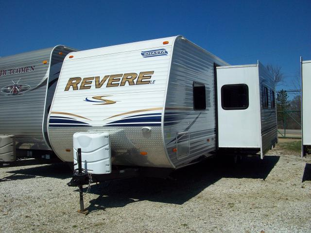 Used 2012 Shasta Revere 30qbs Travel Trailer With Bunkhouse
