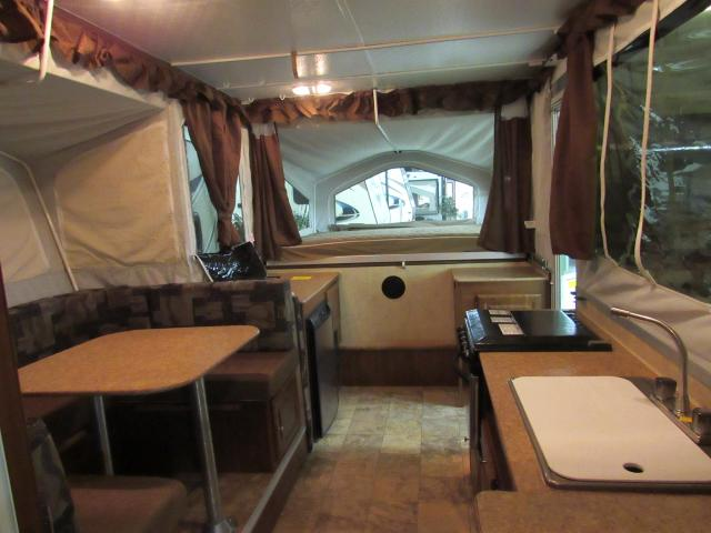 Used 2012 Flagstaff Highwall 27KS Pop Up with Shower Toilet