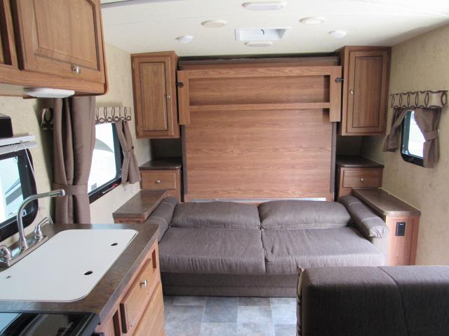 Used 2015 Micro Lite 23fb Rear Bath With Murphy Bed Travel