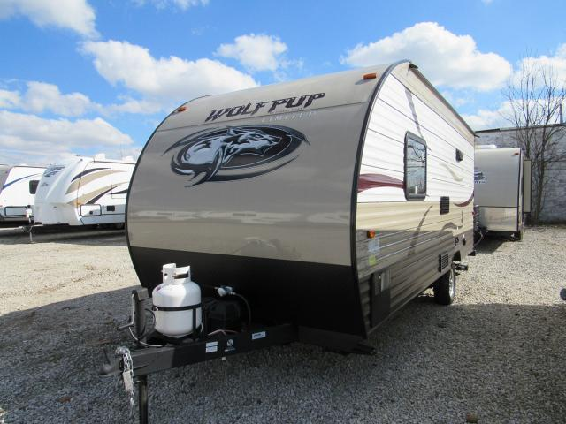 Used 2015 Wolf Pup 16fq Travel Trailer