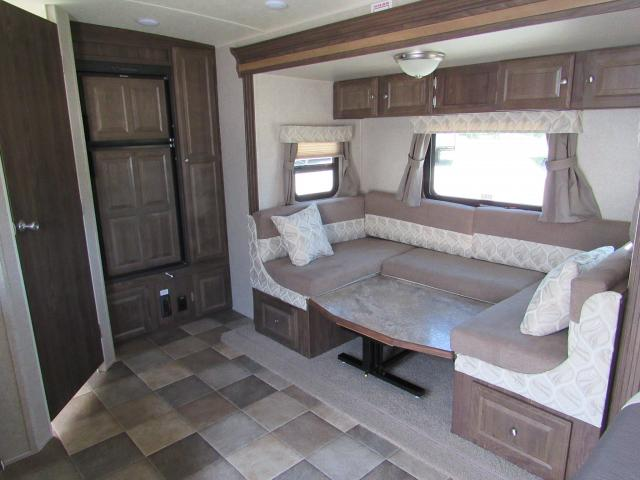 Used 2016 Micro Lite 21ds W Murphy Queen Bed And U Shape