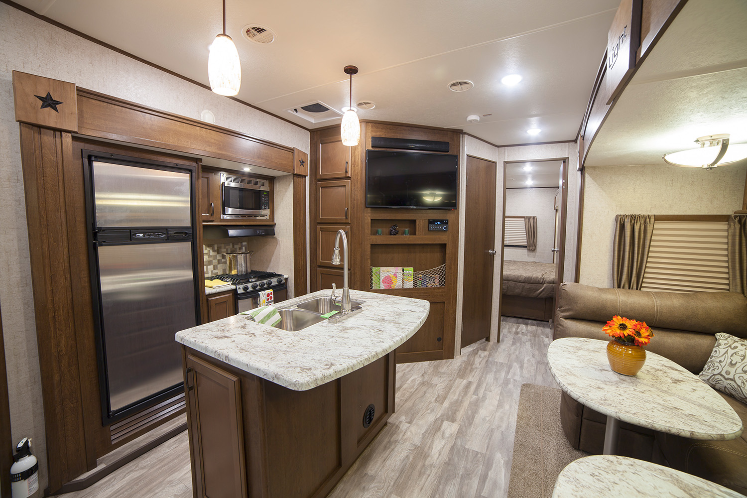 Open Range Light 295bhs Fifth Wheel Streetsboro Ohio Open