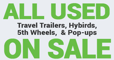 Used RVs and Trailers for sale