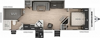 2019 Cherokee 284DBH - Double Bunkhouse Travel Trailer with 2 Entry Doors