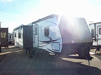 2017 Sport Trek 327VIK Bunkhouse Travel Trailers w/Outside Kitchen & 3 Slide-outs