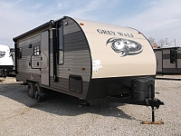 2018 Grey Wolf 20RDSE Light Weight Travel Trailer with Rear Dinette
