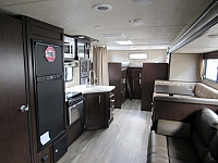 2017 Grey Wolf 29TE Travel Trailer with Quad Bunks and Outside Kitchen