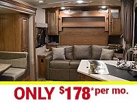 2017 Micro Lite 25BDS Camping Trailer with Outdoor Kitchen