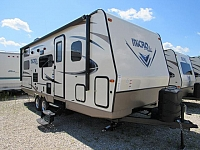 2017 Flagstaff Micro Lite 25BRDS Camping Trailer with Bunks and Outdoor Kitchen