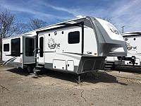 2017 Open Range Light 319RLS Rear Living Room Fifth Wheel