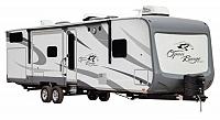 2018 Open Range Roamer 310BHS Travel Trailer the Bunkroom