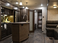 2017 Open Range Roamer 310BHS Travel Trailer with Bunks and Outside Kitchen