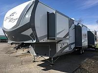 2017 Open Range Roamer 374BHS 5th Wheel with Bunks, Outside Kitchen & 1.5 Baths