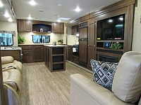 2017 Sport Trek 312VRK Rear Kitchen Travel Trailer