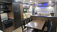 2017 SportTrek Touring Edition 333VFL Front Living Room Travel Trailer with Outside Kitchen