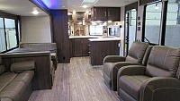 2018 Cherokee 304VFK V-Nose Front Kitchen w/Murphy Bed Travel Trailer