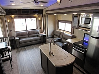 2018 Cherokee Arctic Wolf 285DRL4 - Rear Living Room 5th Wheel