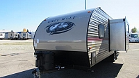 2018 Cherokee Grey Wolf 23DBH Travel Trailer with Bunk Beds