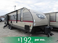 2018 Cherokee Grey Wolf 26CKSE Travel Trailer with Bunks