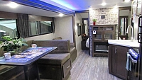 2019 Cherokee Grey Wolf 26DBH Bunkhouse Trailer with Mini Outside Kitchen
