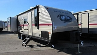 2018 Cherokee Grey Wolf 27DBS Travel Trailer with Bunk Beds