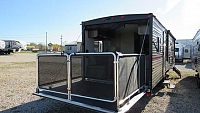 New 2018 Cherokee Grey Wolf 27RR Toy Hauler Trailer with Separate Garage