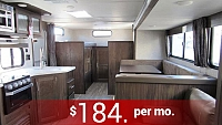 2018 Cherokee Grey Wolf 29TE Travel Trailer with Bunks & Outside Kitchen with Ice Maker