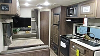 2018 Flagstaff Micro Lite 25LB Travel Trailer with Bunks and Murphy Bed