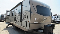 2018 Flagstaff Shamrock 23BDS Rear Tent with Front Murphy Bed Hybrid Camper
