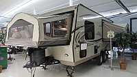 2018 Flagstaff Shamrock FLT183 Hybrid Travel Trailer with 3 Tent Beds