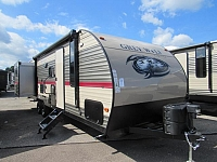 2018 Cherokee Grey Wolf 27DBS Bunkhouse Travel Trailer with Mini Outside Kitchen