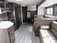 2018 Grey Wolf 26DBH Travel Trailer with Double Bunk Beds and Outside Kitchen