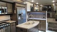 2018 Highland Ridge Open Range RF370RBS Front Living with Rear King Bed Fifth Wheel
