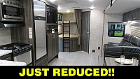 2018 Highland Ridge RV Ultra Lite UT2802BH Bunkhouse Travel Trailer with Outdoor Kitchen
